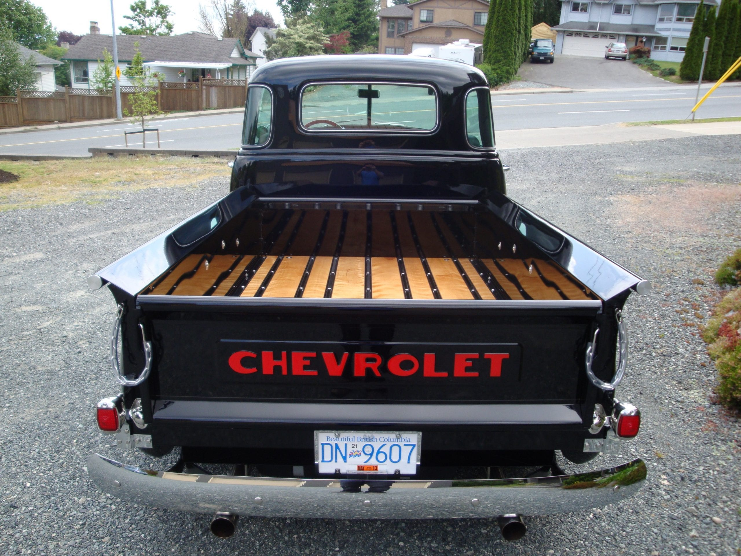 Colin Reimers 1951 Chevy 3100 Pu Hot Rod Bc Association Panel Truck